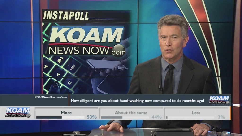 "Koam News Now Instapoll: ""how Diligent Are You About Hand Washing Now Compared To 6 Months Ago"""