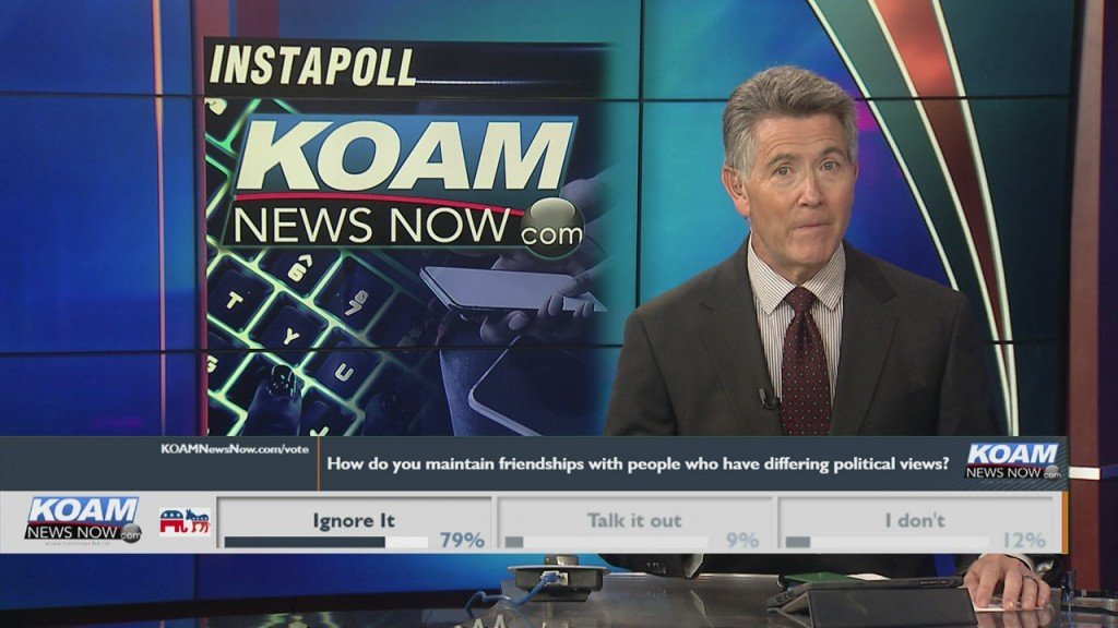 "Koam News Now Instapoll: "" How Do You Maintain Friendships With People Of Differing Political Views?"""