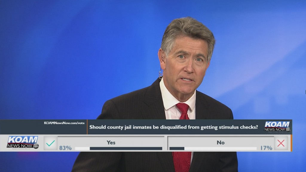 """Koam News Now Instapoll: """"should County Inmates Be Disqualified From Receiving Stimulus Checks?"""""""