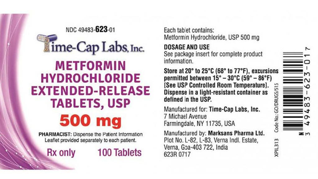 An Indian Pharmaceutical Company Is Recalling Some Metformin Tablets Because They May Contain Higher Than Normal Levels Of A Carcinogen.