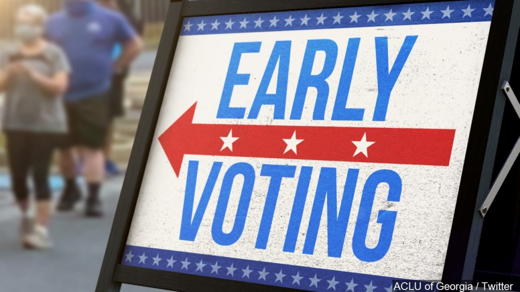 Early Voting Graphic, Mgn Image