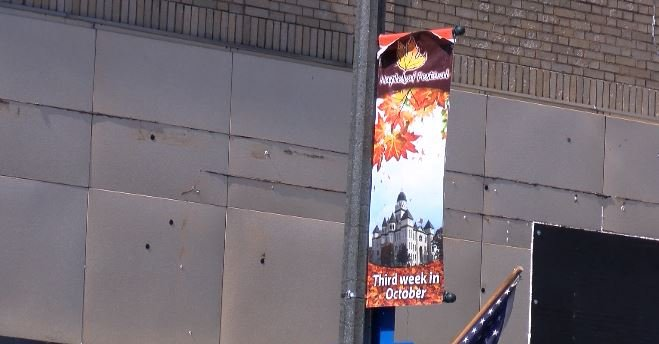 Maple Leaf Festival Banner