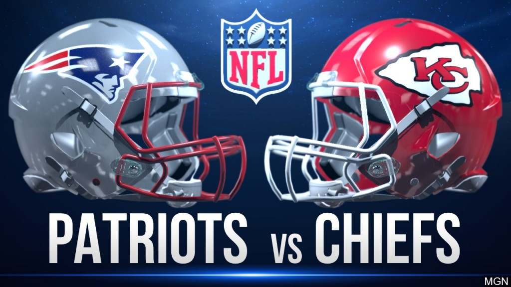 Patriots Chiefs Game Graphic, Mgn Image