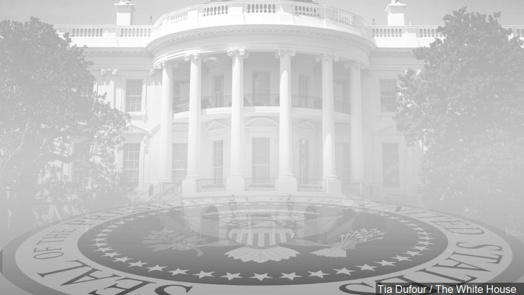White House, Presidential Seal, Mgn Image