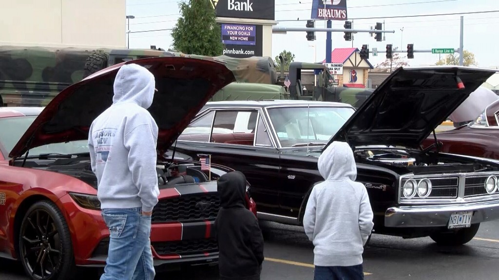 Checking Out Cars At The Joplin Car Show