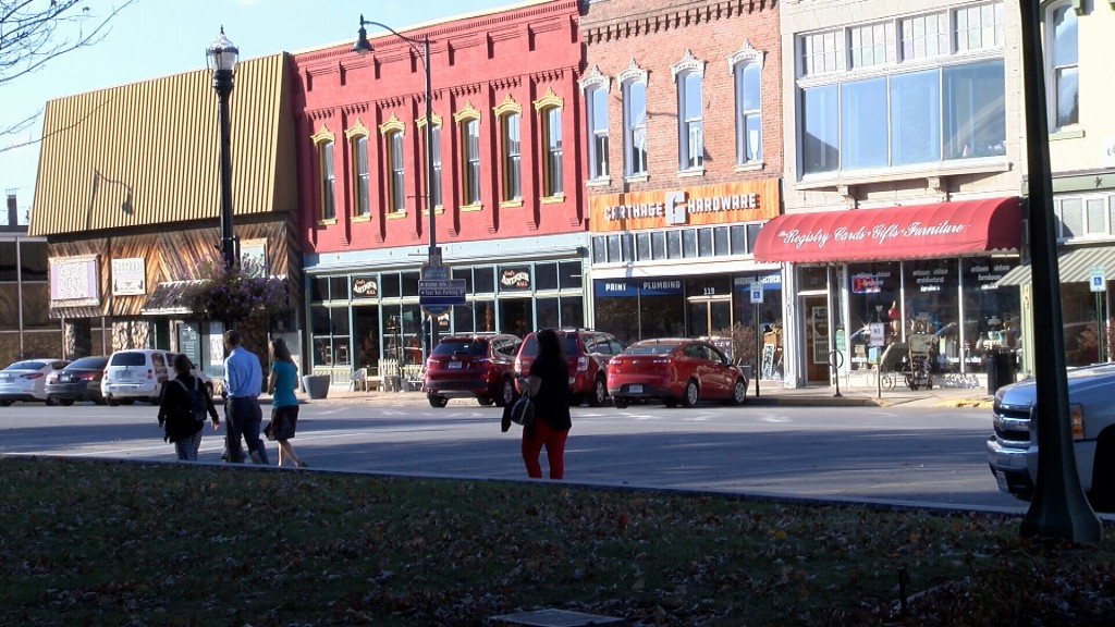 Downtown's Carthage Square