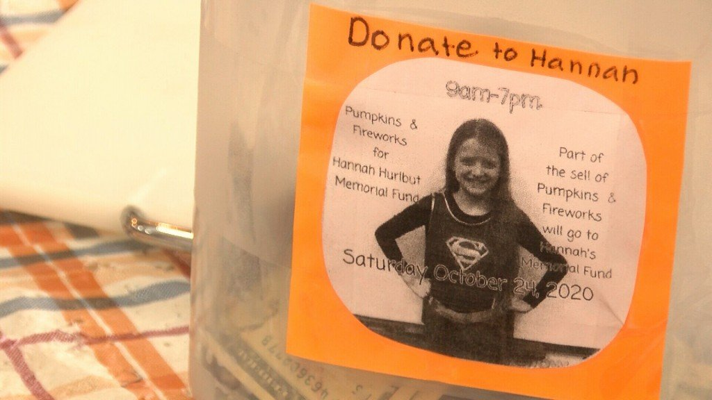 Poster Asking People To Donate To Memorial Fund