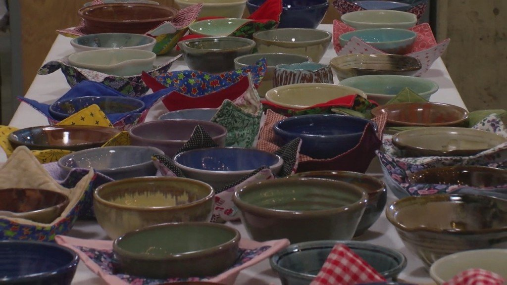 Watered Gardens Host Their Empty Bowls Event