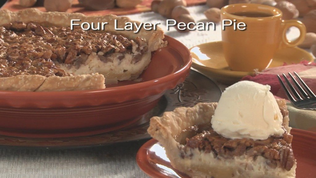 Mr. Food: Four Layer Pecan Pie