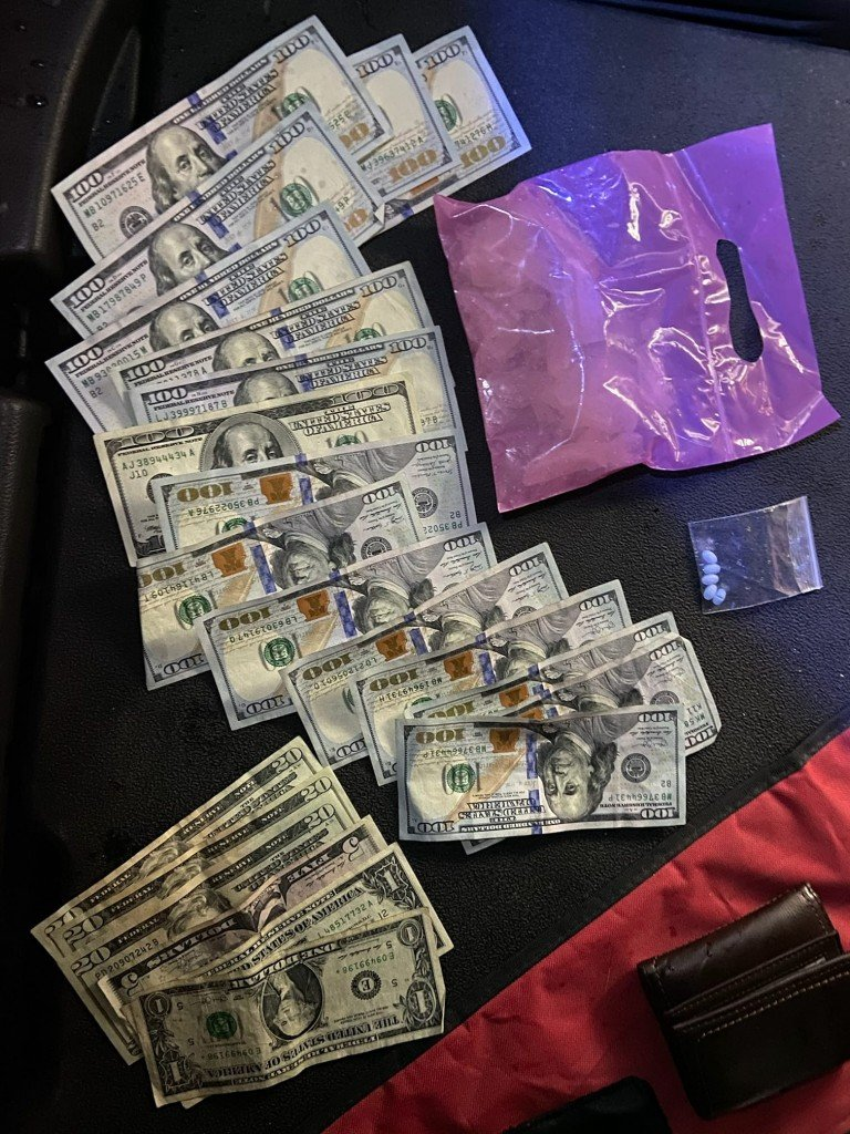 92 Grams Of Pure Crystal Meth, Cash, Granby, Mo. Police Department