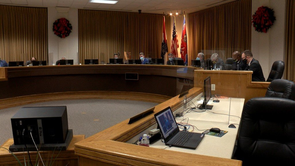 Joplin Council Mask Mandate Meet