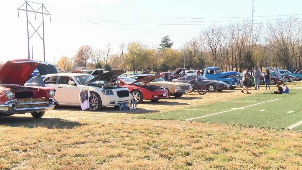 A Car Show In Neosho
