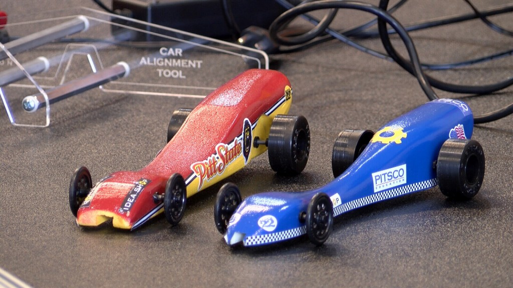 Co2 Powered Drag Racers