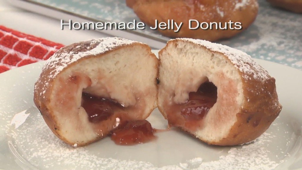 Mr. Food: Homemade Jelly Donuts