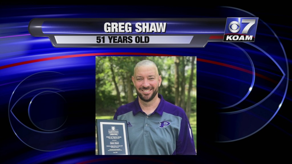 Pittsburg Resident Greg Shaw Passed Away After A Year Long Battle With Brain Cancer