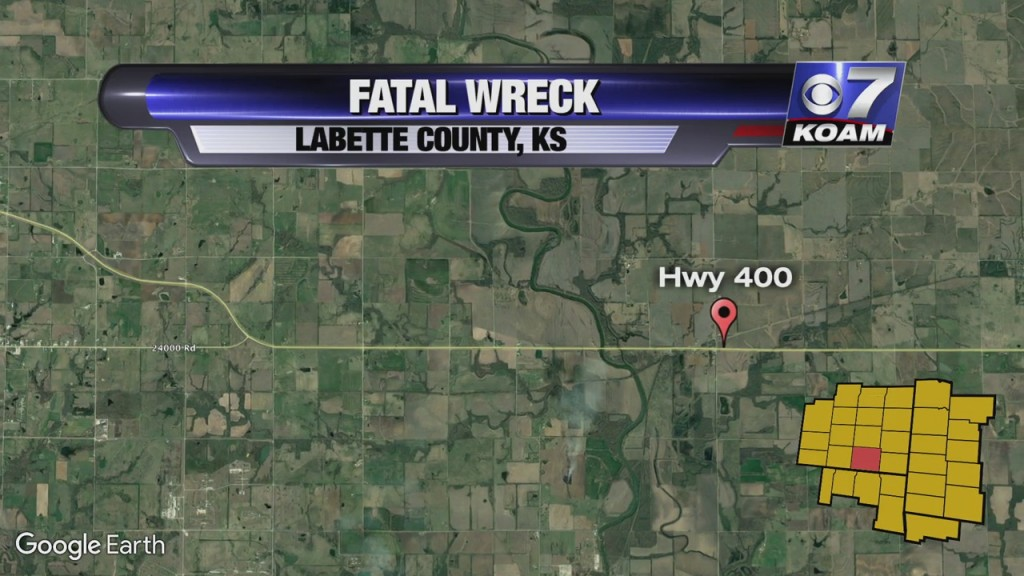 Three Vehicle Crash In Labette County Leaves One Dead