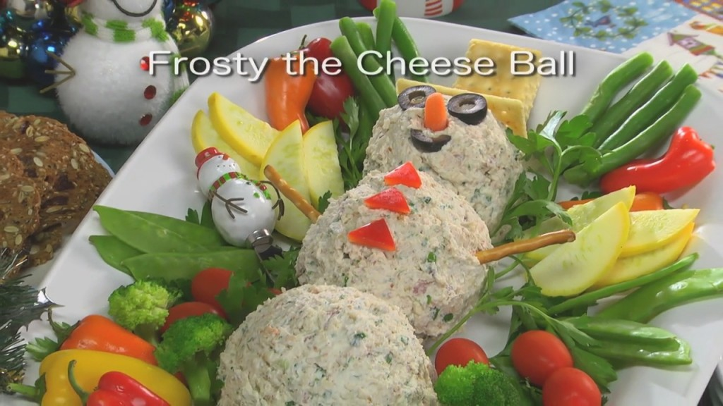 Mr. Food: Frosty The Cheese Ball