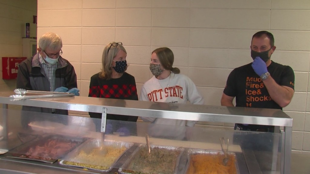 Salvation Army Serves Holiday Meals In Joplin