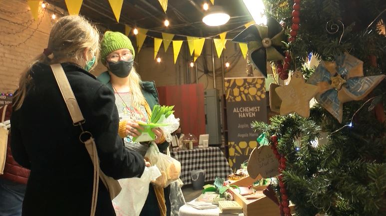 Empire Market Holds Tinsel And Tidings Christmas Eve Market