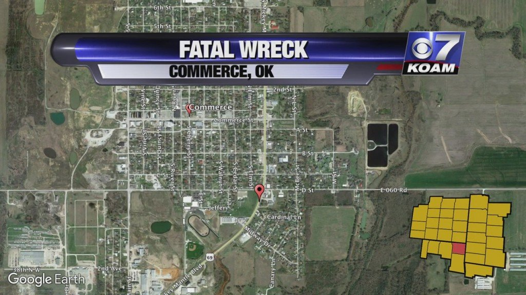 Fatal Wreck In Commerce Oklahoma
