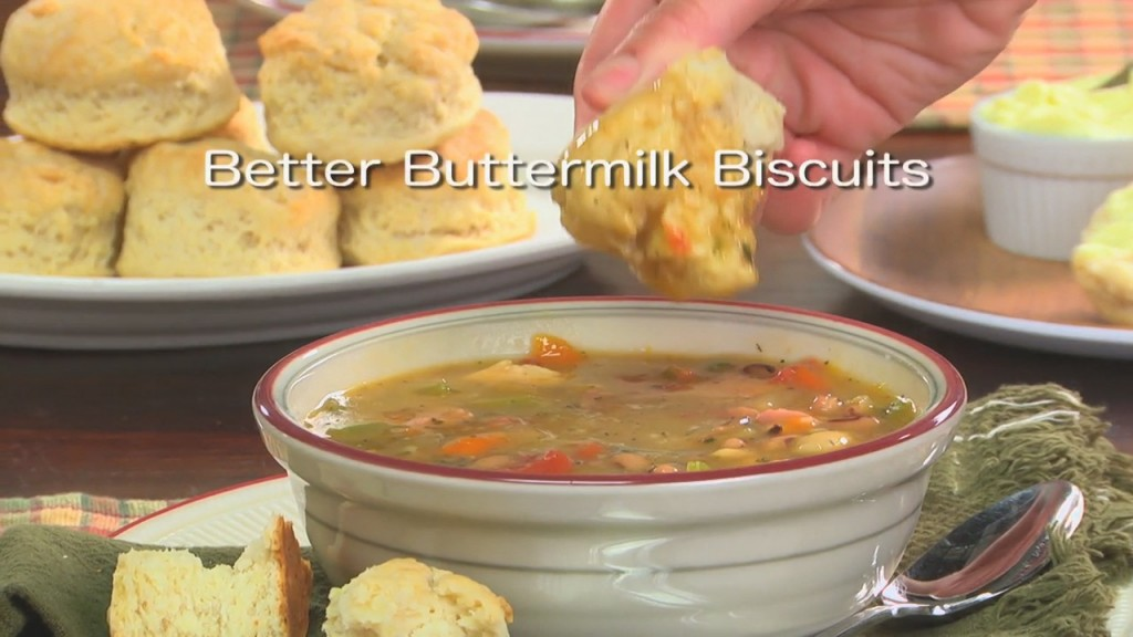Mr. Food: Better Buttermilk Biscuits