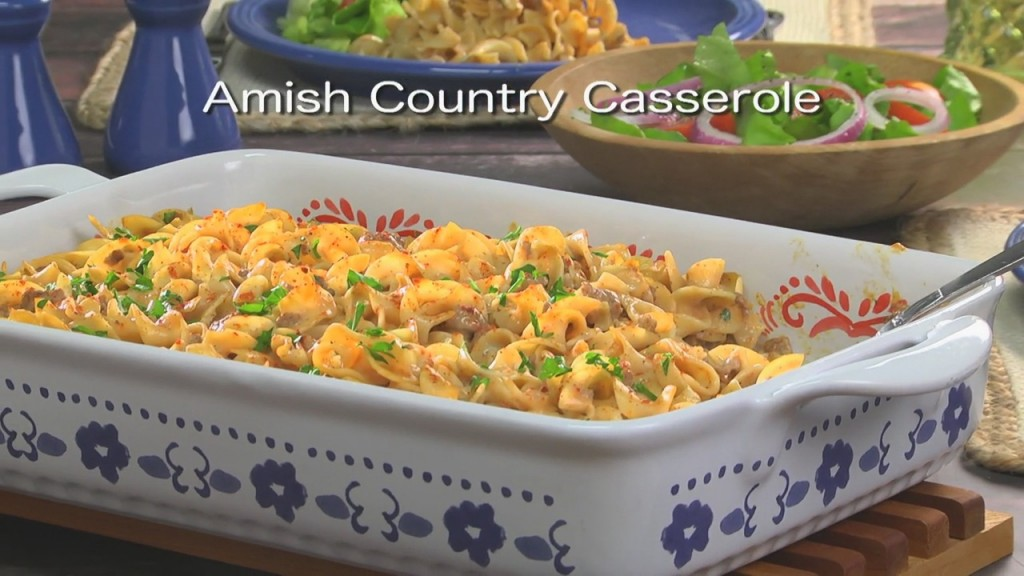 Mr. Food: Amish Country Casserole