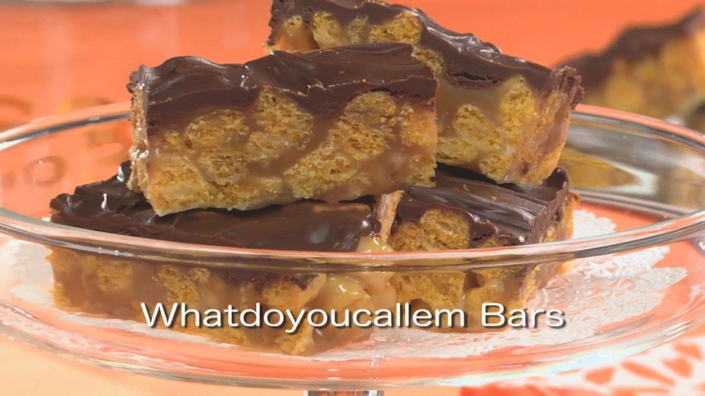 Mr. Food: Whatdoyoucallem Bars