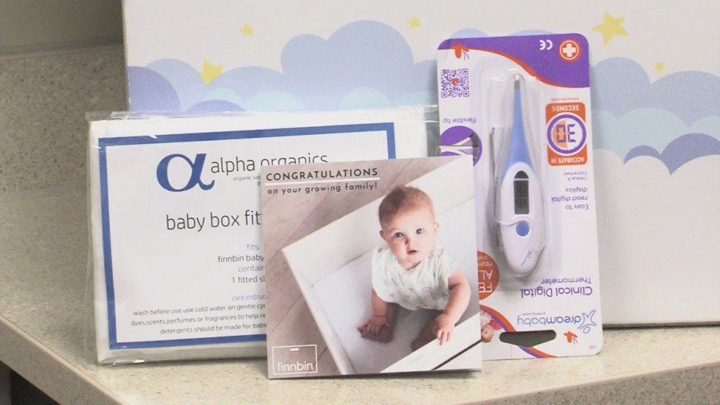 Sek Community Health Center Gives Baby Boxes To New Mothers