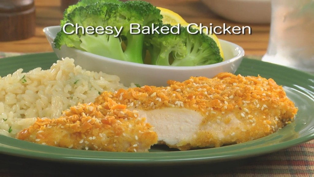 Mr. Food: Cheesy Baked Chicken