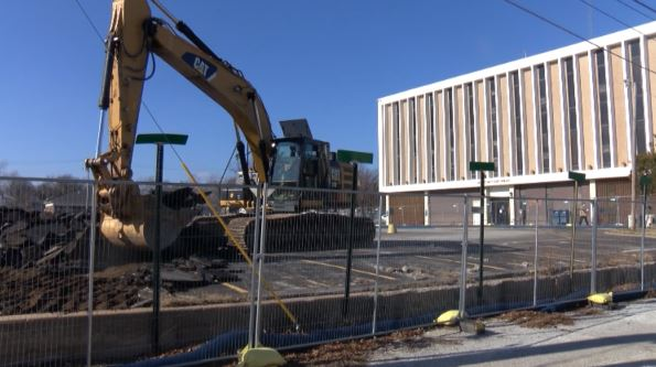 Construction At The Jasper County Courts Building In Joplin