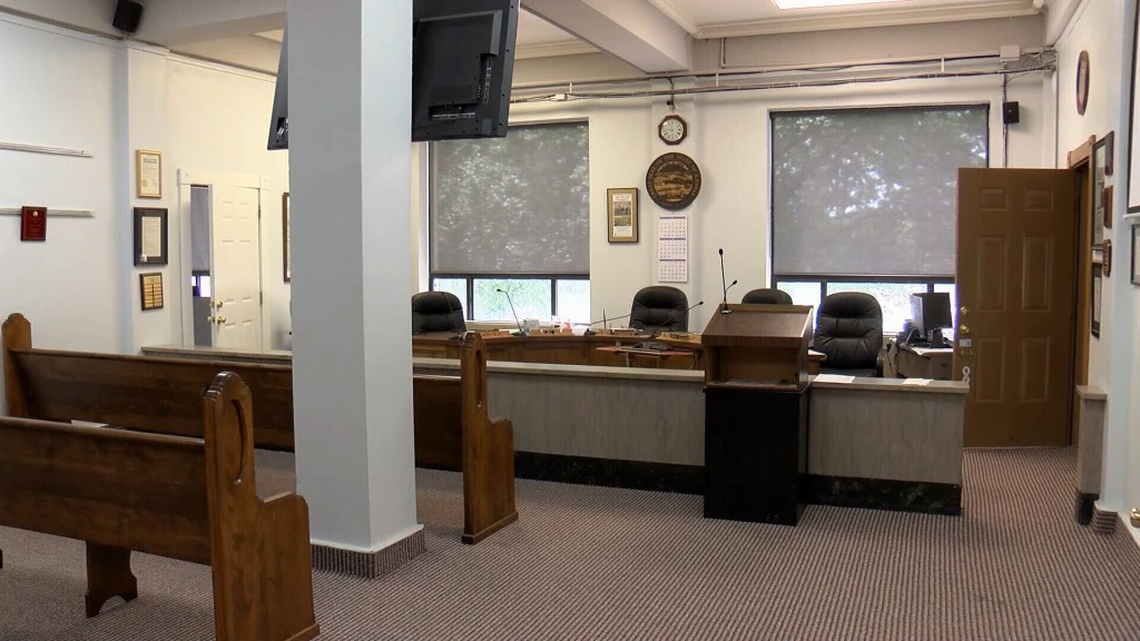 Crawford County Commissioners Meeting Room