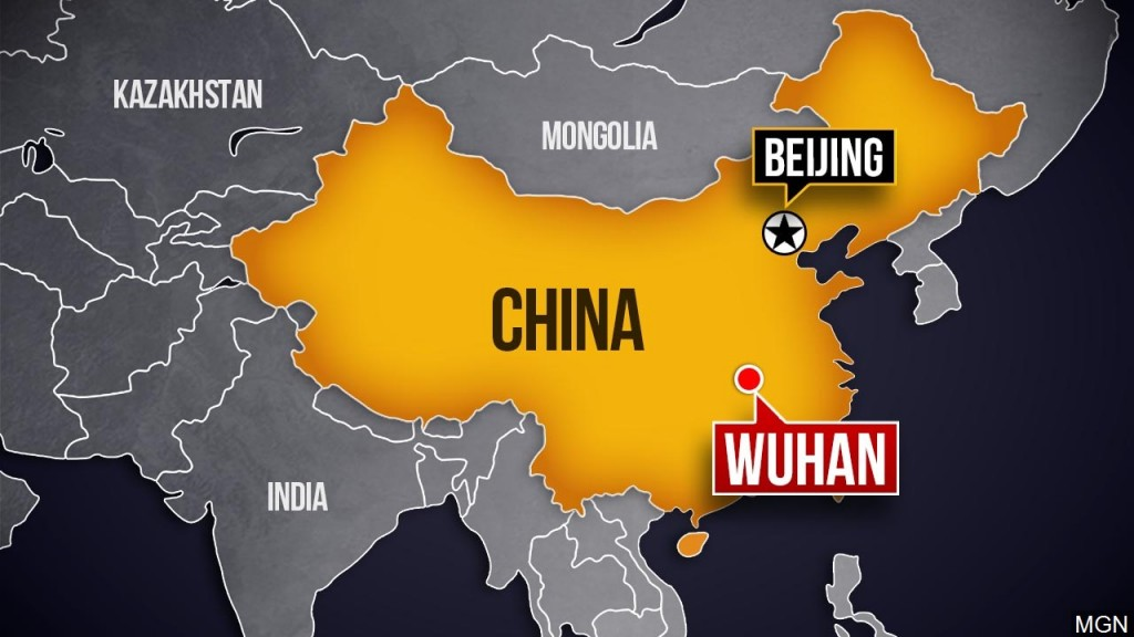 Map Of Wuhan, China, Mgn 1280x720 00109b00 Hqkzd