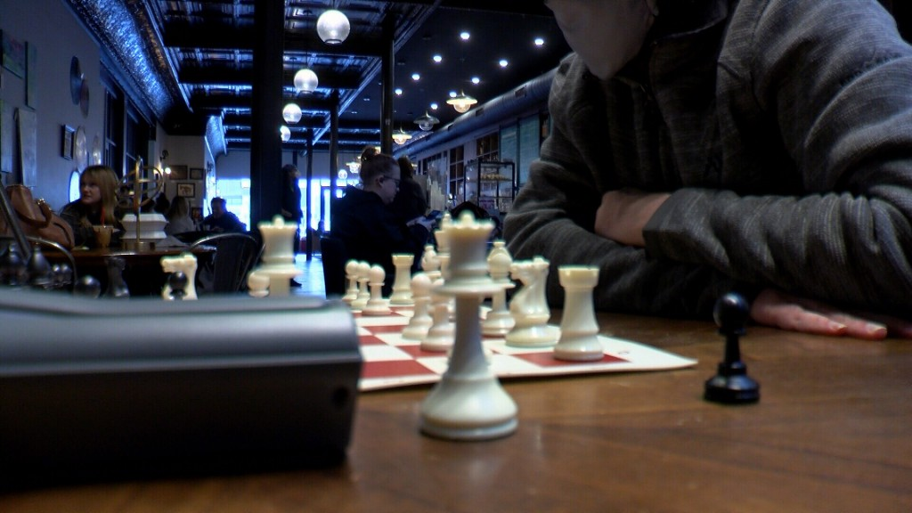 Chess Being Played