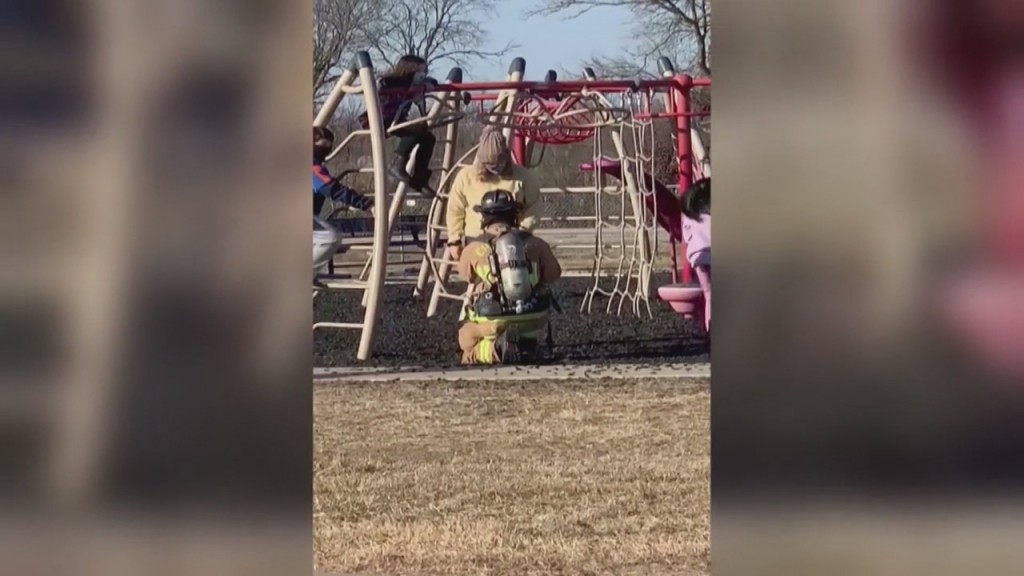 Area Firefighter Makes Surprise Proposal