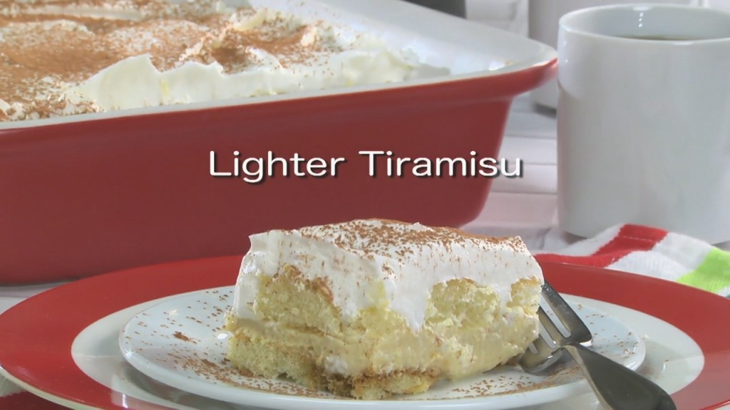 Mr. Food: Lighter Tiramisu