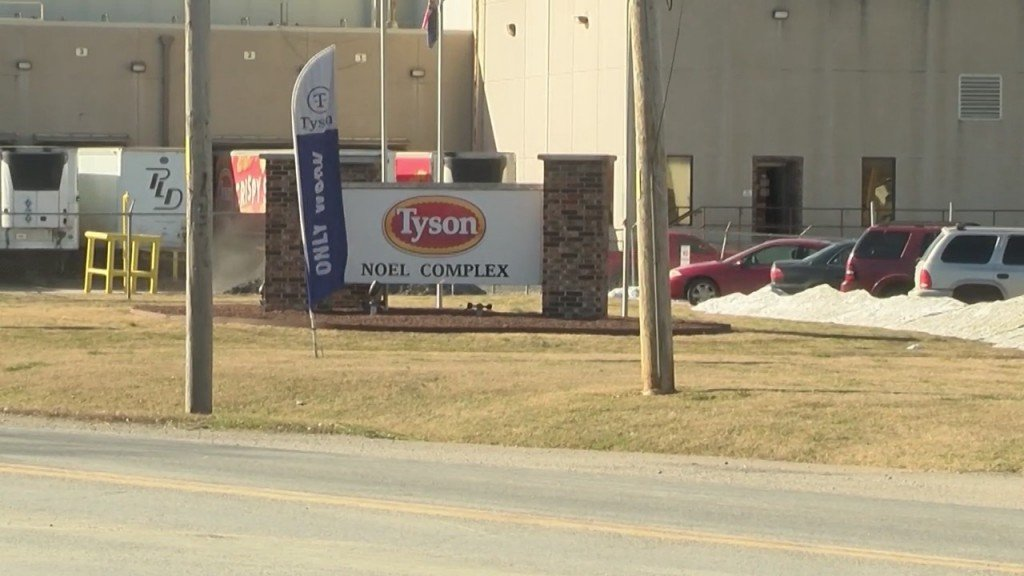 Tyson Offering Incentives For Workers To Get Vaccinated