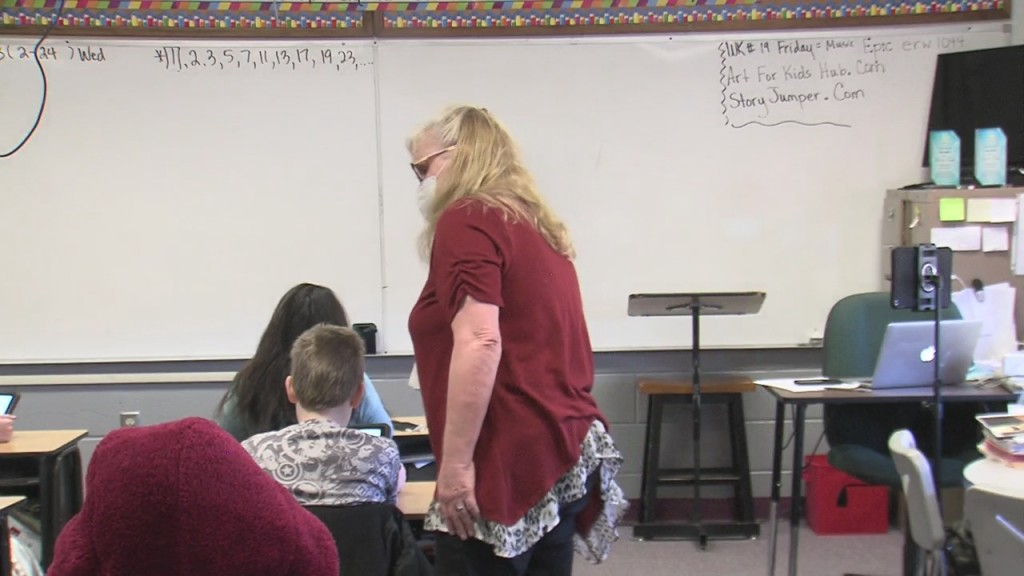 A Baxter Springs Teacher Is Being Honored For Her Commitment To Her Students
