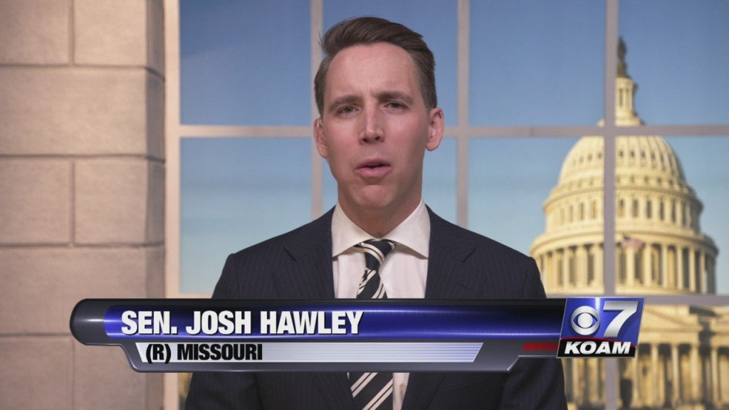 Sen. Josh Hawley Speaks On Capitol Riots And Social Media