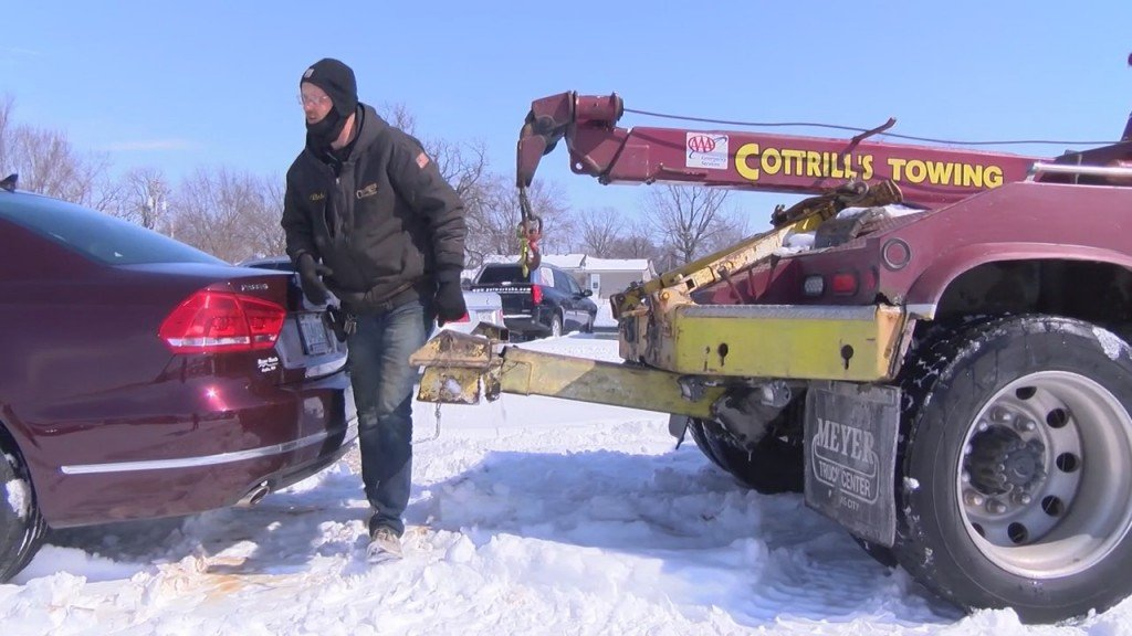 Concerns From A Tow Tuck Driver During The Winter Season