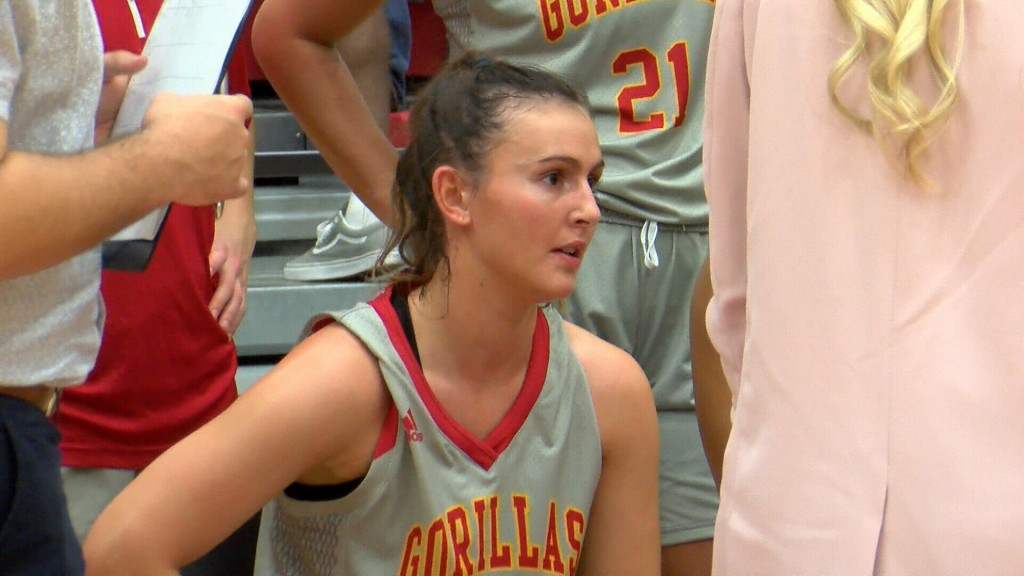 Kaylee Damitz Hits 1,000 Career Points; Pitt State Beats Newman