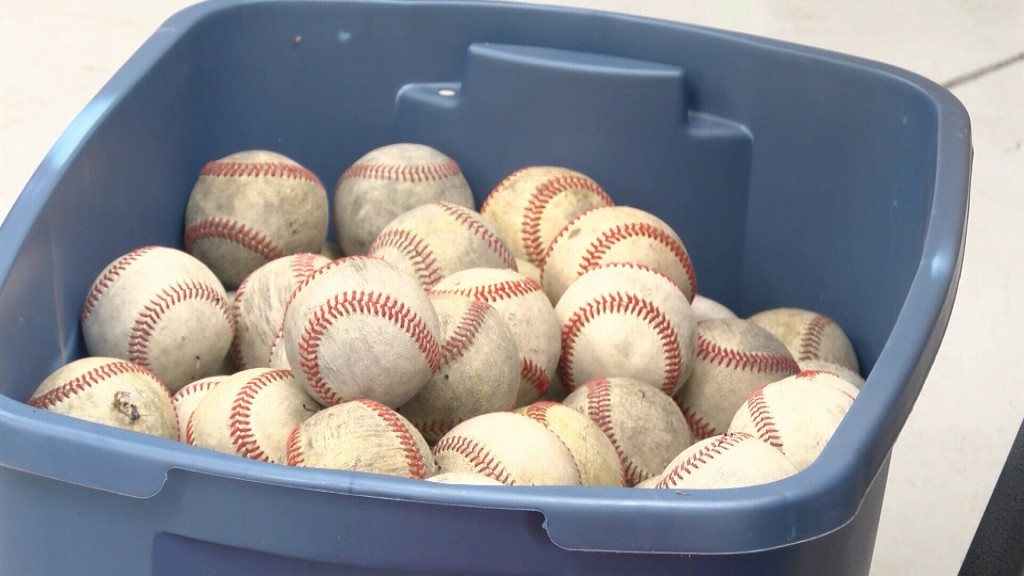 Donated Baseball For 4 State Athletes
