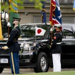 Japan's Leader Urges Strong Alliance In Visit To White House