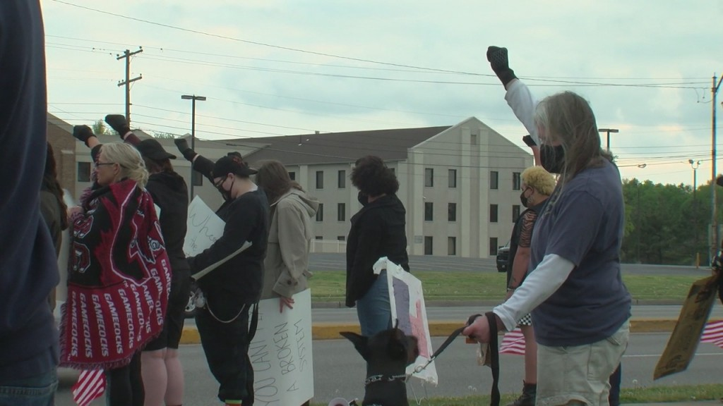 Joplin Rally Takes Place To Bring Awareness To A Fatal Minnesota Shooting