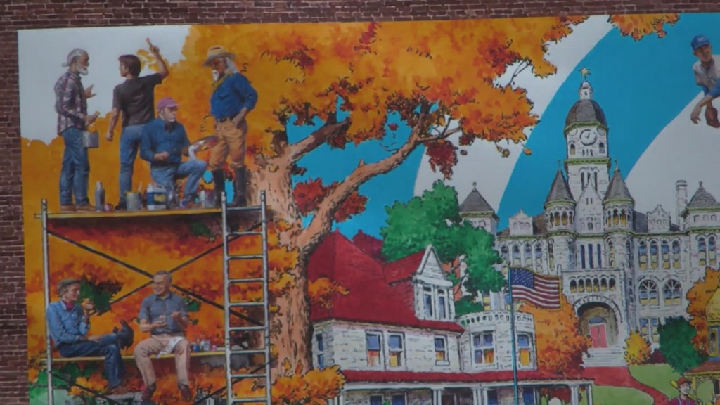 New Mural Added To Downtown Carthage