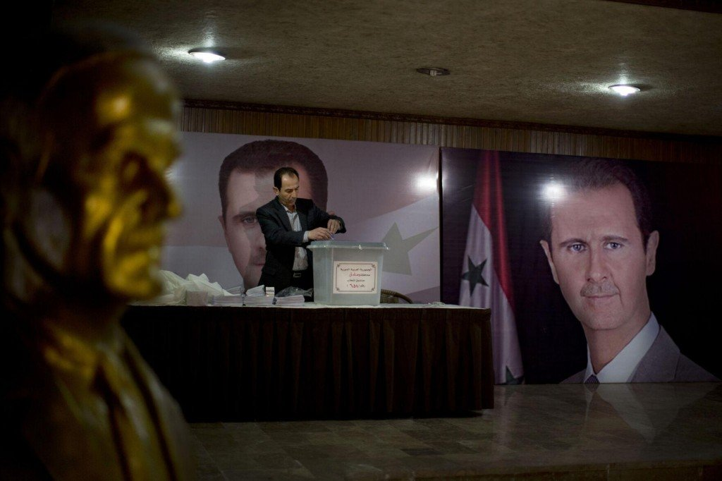 Parliament Speaker: Syria Presidential Election May 26