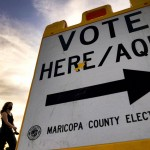 As Voting Fight Moves Westward, Accusations Of Racism Follow