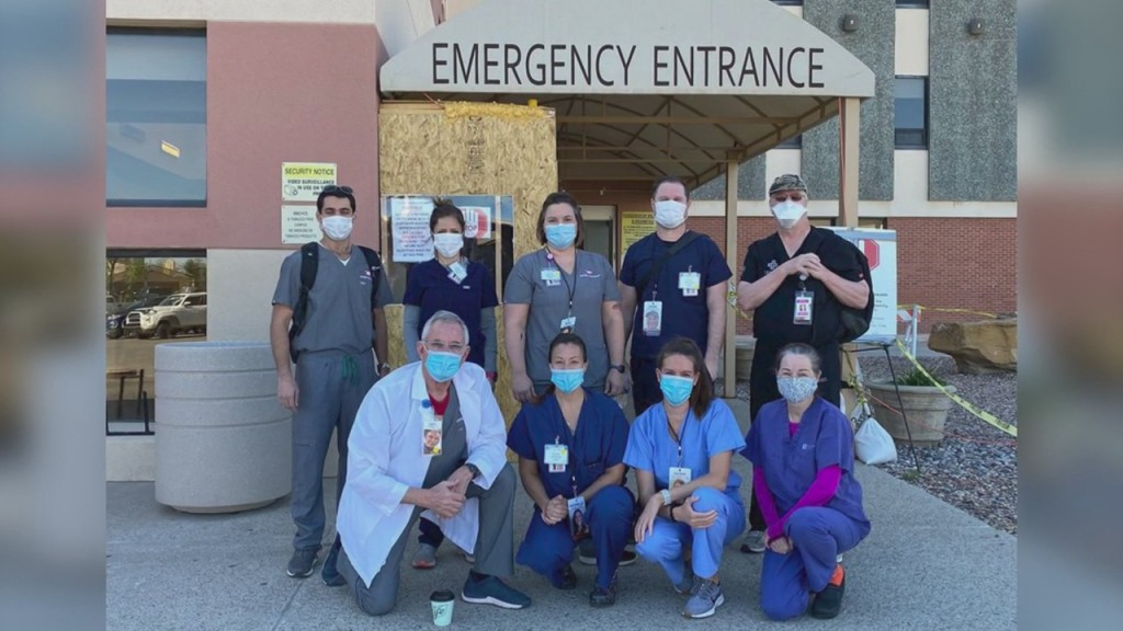 Area Nurses Volunteer In The Navajo Nation
