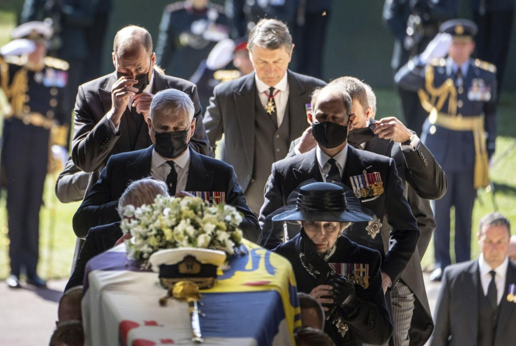 Ap Photos: Reflections On A Royal Funeral Amid A Pandemic