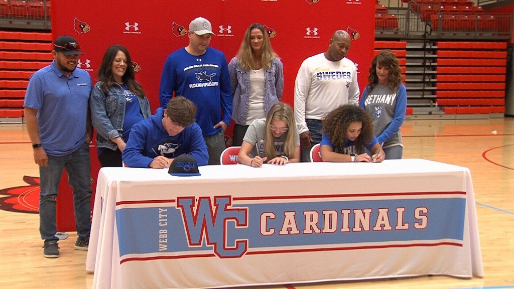 Web Webb City Signings