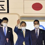 Japan's Suga Heads To Us For China Focused Talks With Biden